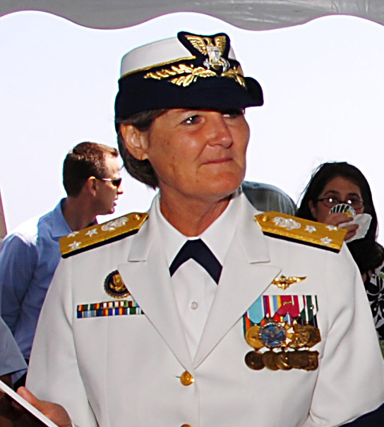 11.	Vice Admiral Vivien Crea, who graduated from Officer Candidate School and broke numerous gender barriers for female officers to become Vice Commandant of the Coast Guard.