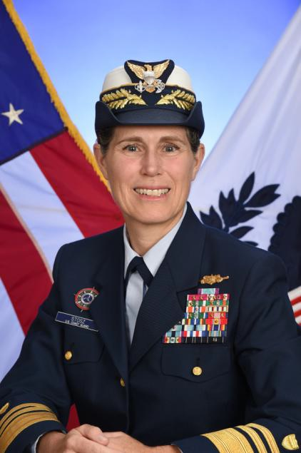 12.	Vice Admiral Sandra Stosz, former superintendent of the Coast Guard Academy and Deputy Commandant for Mission Support.
